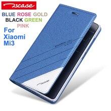Tscase Модные Качественные оригинальный для Xiaomi Mi3 кожаный чехол флип для Xiaomi M3 случае телефон Обложка для Xiaomi 3 Невидимый магнит