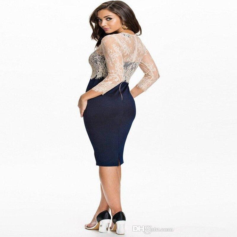 65883e10b9a60 Jolie Femme 2017 nouvelle dentelle garniture cachée motif, classique  dentelle couture serré sexy Tube Top Robe robe, soirée et robe de partie  dans Robes De ...
