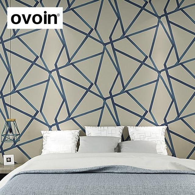 Metallic Dreieck Geometrische Moderne Design Wand Papier Wohnkultur Tapete  Für Wände Rollen Schlafzimmer Wohnzimmer Flur Wand