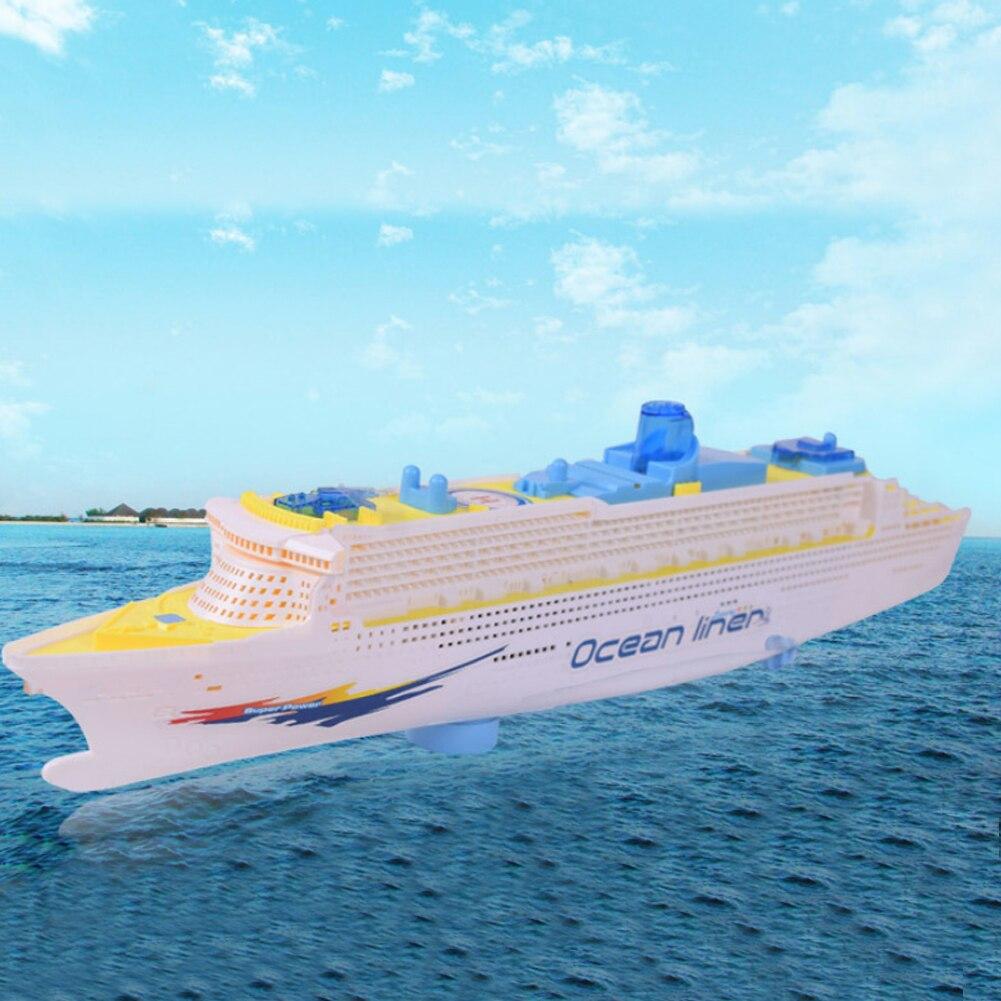 Luz Universal Music Trasatlántico de Modelos de Barcos Cruceros Intermitente Son