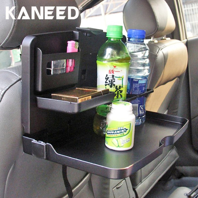Car Drink Food Cup Holder Vehicle Multi Function Foldable Tray Back Seat Table