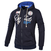 Brand 2017 Hoodies Brand Men Letter Printing Sweatshirt Male Hoody Hip Hop Autumn Winter Zipper Hoodie