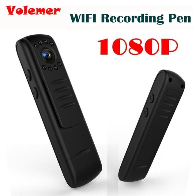 Volemer L7 1080P HD WIFI Mini Camera Security Monitor Body Camera Record Pen DVR WIFI Recording Pen Video Recorder PK C11