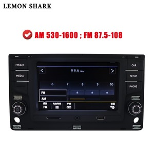 Image 5 - Radio de coche MIB MQB, Carplay mirrorlink, Bluetooth OPS, cámara de marcha atrás para VW Golf 7 MK7 seven Passat B8 5GD 035 280B, 6,5