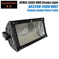 220 V 240 V Taiwan Jenbo Atmic 3000 W Martin Strobe Luz de Descarga de Gás Tubo/tubo de pulso 3pin /5pin Conector DMX512 TP S3000|light bulb light|light milk|light tote -
