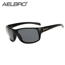 AIELBRO 2019 New Sports Polarized Sunglasses Men Women UV400 Vintage Square Sun Glasses For Outdoor Eyewear