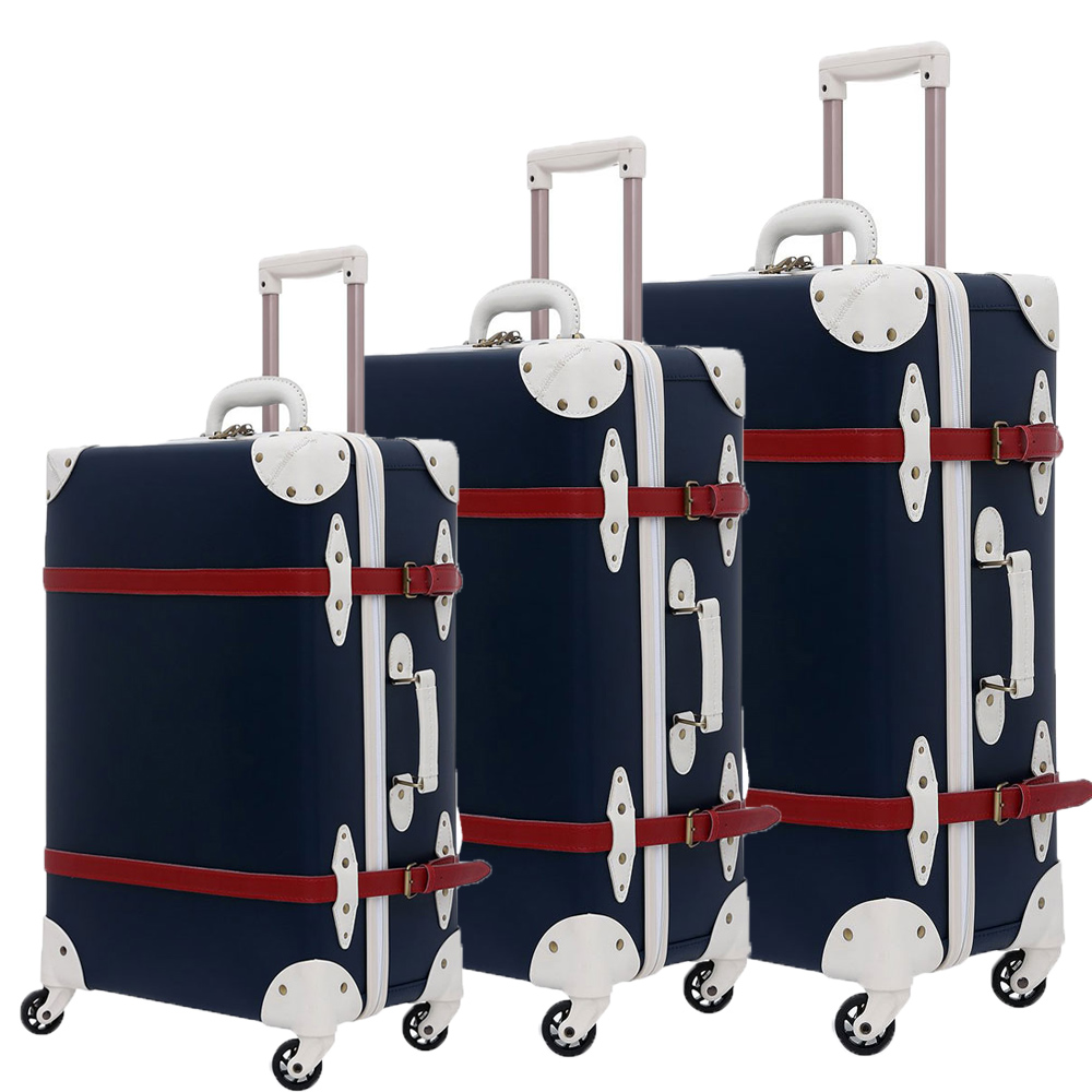 Suitcase Set Trolley Case Luggage With Wheels TSA Lock Student Large Suitcase 28 Inch PU Leather Large Capacity 3pcs
