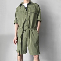 M 6XL!!!The original design of men's wear is equipped with three color overalls shorts .