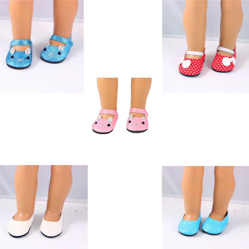 Clearance Sale 5pcs/lots Baby Born Doll Accessories Doll Shoes Fit 43cm Doll Baby Born Doll Best Childrens Day Gift