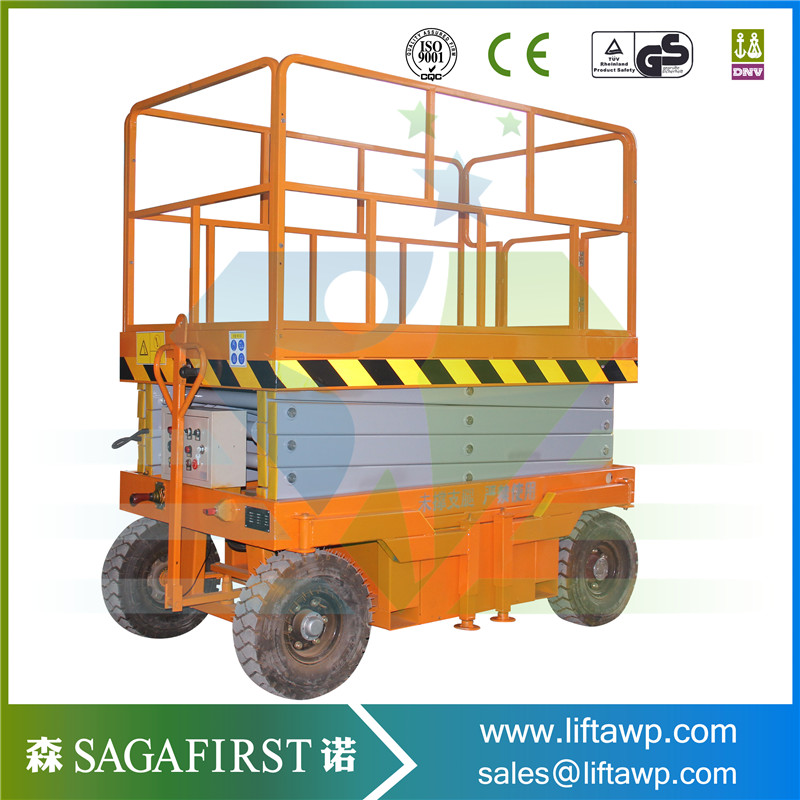 Hydraulic Lifter Self-Propelled Scissor Lifts Table Platform