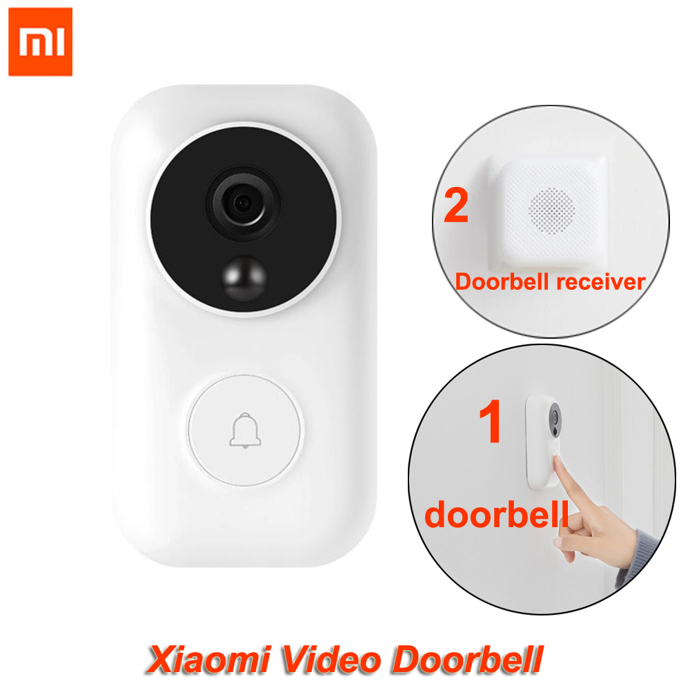 Xiaomi Zero AI Video Doorbell Face Identification 720P IR Night Vision Video Motion Detection SMS Push Intercom Cloud Storage-in Smart Remote Control from Consumer Electronics    1