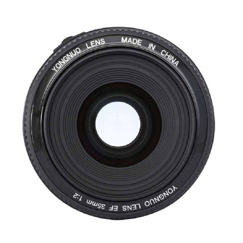 YONGNUO 35mm Lens YN35mm F2 Lens 1:2 AF / MF Wide-Angle Fixed/Prime Auto Focus Lens For Canon EF Mount EOS Camera EOS 5DII 5DIII цена