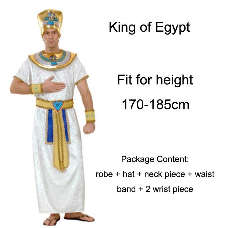 Umorden Helovinas kostiumai Senovės Egiptas Egipto faraonas karalius - Karnavaliniai kostiumai - Nuotrauka 4