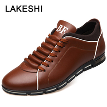 Plus Size 37-50 Men Casual Shoes Fashion Leather Shoes For Men Flat Shoes Men Loafers Casual Sneaker Brand Shoes Men Footwear