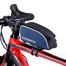 RockBros Road Bicycle Saddle Bags 2017 Quick Release Firm Road Bike Bag Reflective Cycling Cycle Bag Bycicle Accessories B20