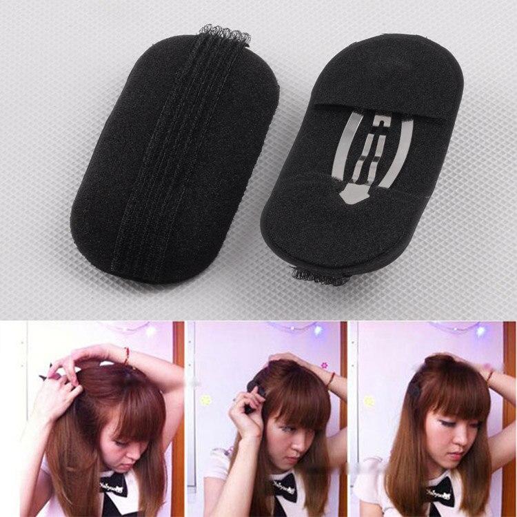2 Pcs/Set Princess Hair Maker Head Insert Hairs Volume Bump Up Clip Tools QRD88
