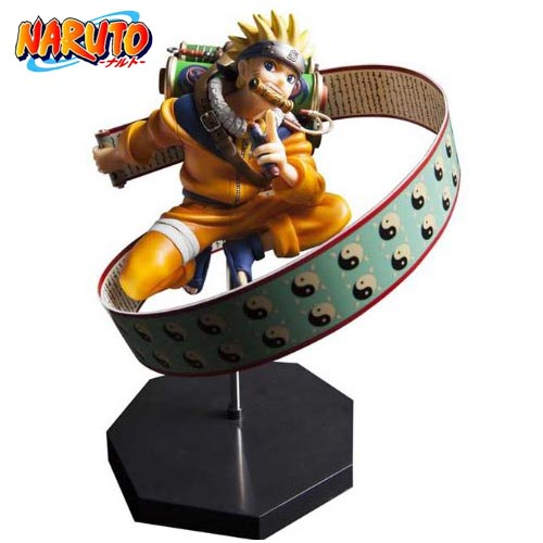 HOT Anime Uzumaki Naruto 23cm Action Figure PVC Doll Model Collectible Toy Gift hot anime naruto 4th hokage namikaze 6 action figure collectible pvc model gift toy