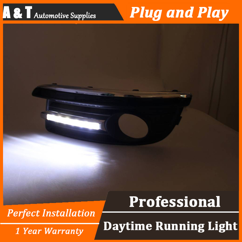 car styling For VW Jetta LED DRL For Jetta led fog lamps daytime running light High brightness guide LED DRL A style car styling for honda vezel hrv led drl for vezel hrv led fog lamps daytime running light high brightness guide led drl