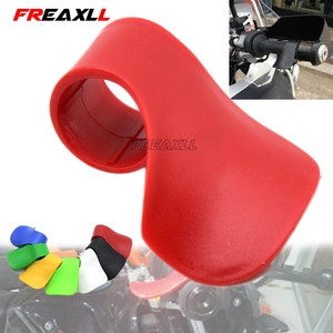 Motorcycle Throttle Clamp Booster Handle Clip grips Cruise Aid Control Grips For kawasaki er6n z650 ninja 300 versys 650(China)