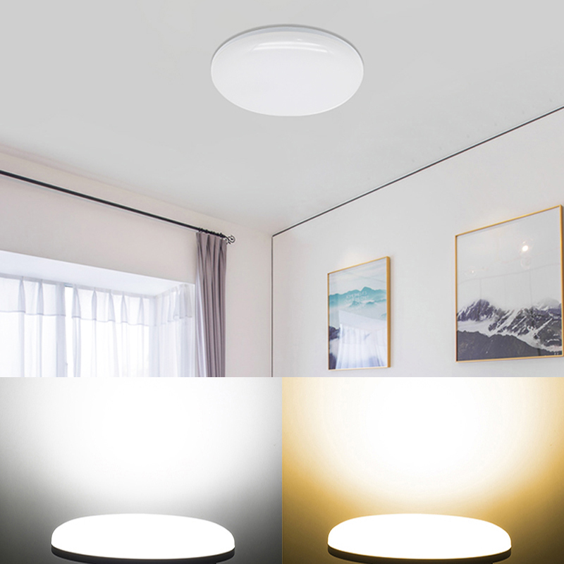 US $5.38 8% OFF|ceiling led lighting lamps modern bedroom living room lamp  surface mounting balcony 9w 13w 18w 24w 36w 110V/220V Ceiling Lights-in ...