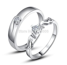 95cc14e096 Buy hearts and arrows couple rings and get free shipping on AliExpress.com
