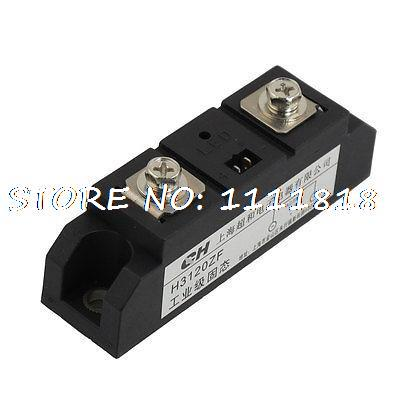 LED Light Rectangle SSR Solid State Relay 3-32VDC/480VAC 120A w Cable