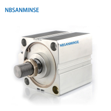 NBSANMINSE SDA50  Compact Cylinder AirTAC Type Double Acting Cylinder Pneumatic Air Cylinder Mini Cylinder airtac type cylinder ma16 175s cm mini pneumatic cylinder double acting 16 175mm accept custom