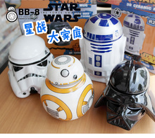 Creative Star Wars R2-D2 Robot Ceramic Cup Tumbler for Children Friend Gift
