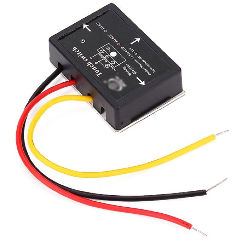 10/20/50/100 pièces XD-622 6-12 V DC 36 W continu gradation tactile interrupteur pour lampes LED etc. - 3
