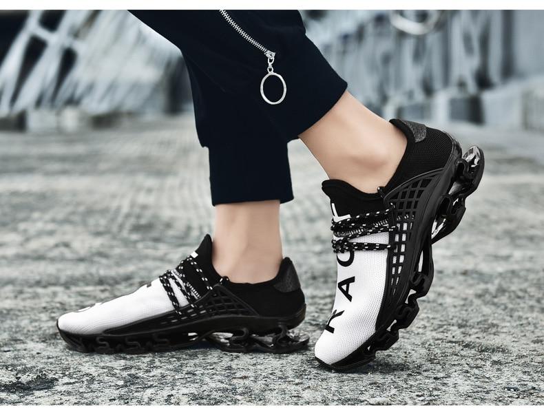 18 New Breathable QIYHONG Men Sneakers Unisex Couple Shoes Basket Femme Hard-Wearing Tenis Feminino Male Footwear Plus Size 23