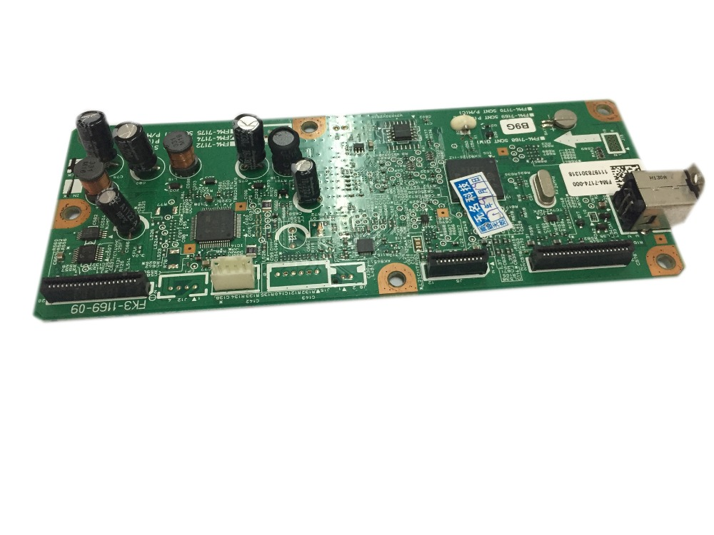 Used Formatter Board For Canon MF4410 MF4412 MF 4410 4412 FM4-7175 FM4-7175-000 For canon formatter Mainboard wire universal board computer board six lines 0040400256 0040400257 used disassemble