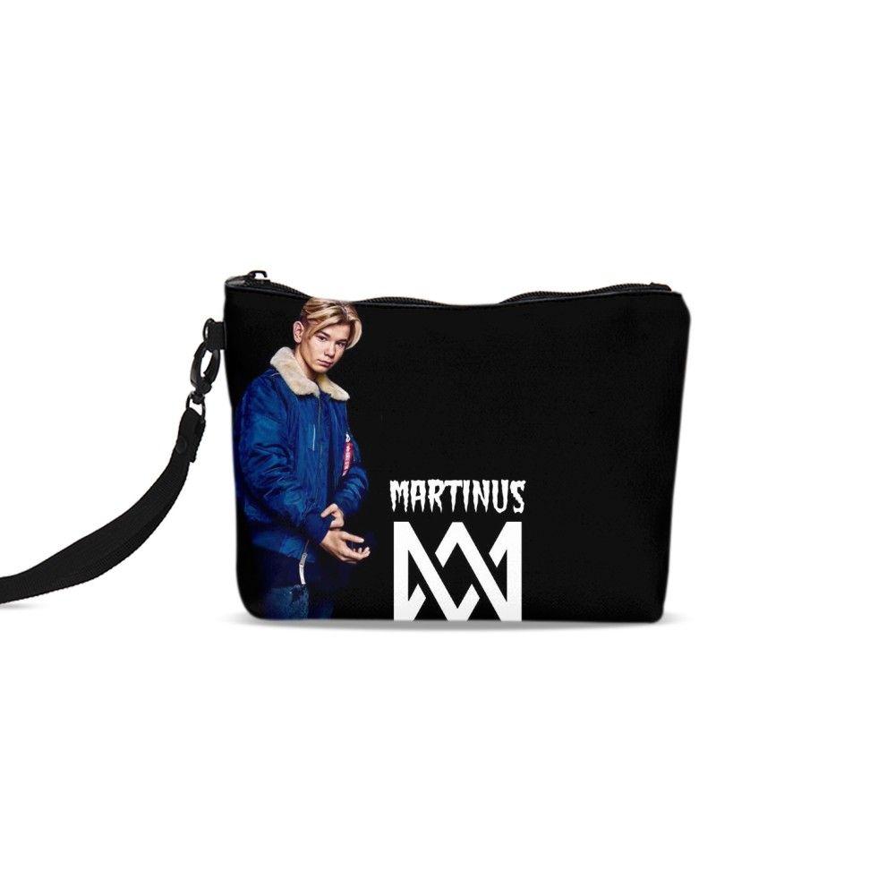Makeup Bag Canvas Women Cosmetic Marcus And Martinus Luxury Girl Accessories Iridescent Travel necessarie Feminina Sac Main