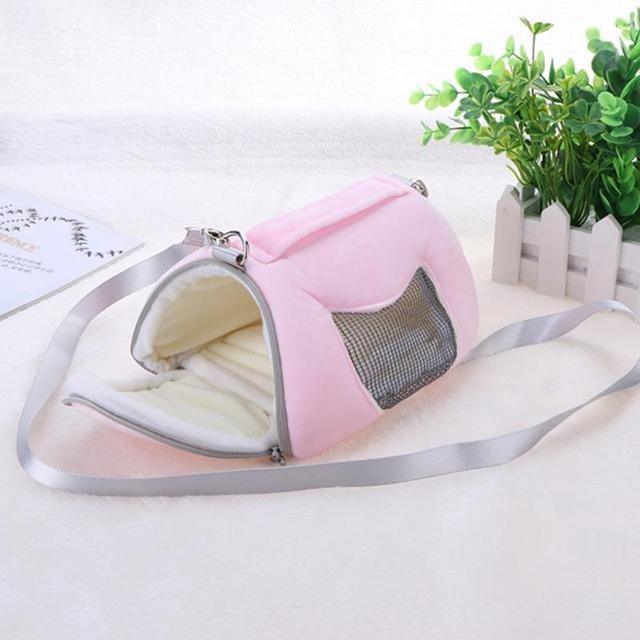 Portable Guinea Pig Hamster Cage Small Animal Pet Rabbit Cage Bed Squirrel House Hedgehog Nest Toy
