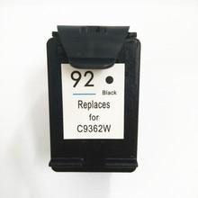Vilaxh 92 Black compatible For HP Ink Cartridge Deskjet 5440 D4160 Photosmart C3140 C3150 C3180 C3190