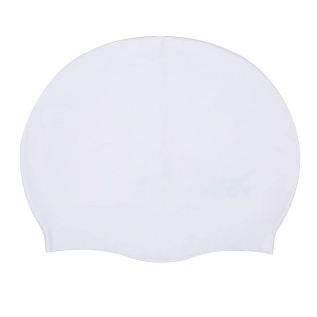 Impermeable LANE4 Accesorios Silicone Swim Cap Color Liso C/ómodo Profesional para Adultos y Adolescentes AJ040 Gorro de Piscina en Silicona