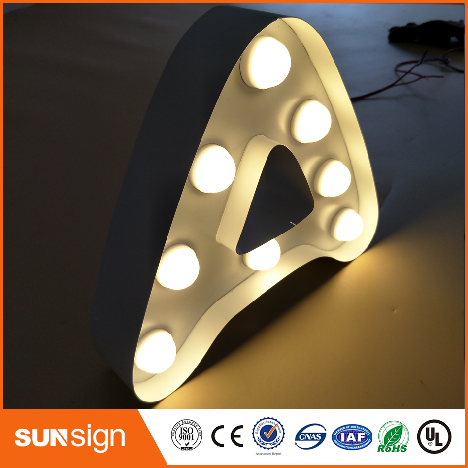 Popular Waterproof Frontlit Led Outdoor Letters