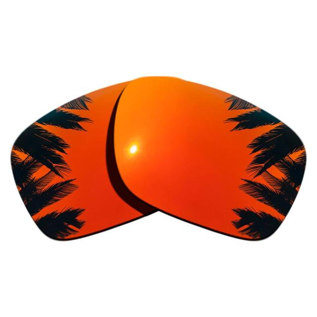 Ice Blue Mirrored&Orange Red Mirrored Polarized Replacement Lenses for Holbrook Frame 100% UVA & UVB