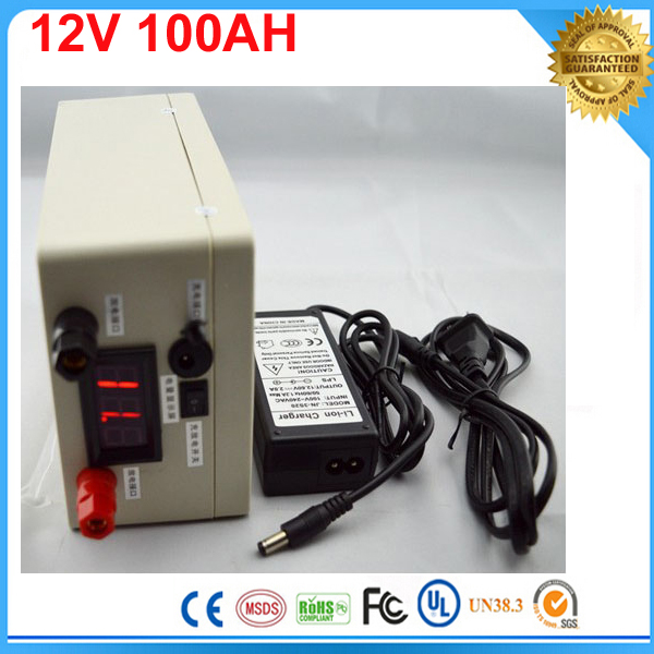 Electric Bicycle Battery ithium battery / Lithium battery 12V 100Ah / 12V 100Ah deep cycle lithium ion battery with BMS Charger аккумулятор для фонарика gaotan12v lithium ion battery 12v100ah 12v 100ah