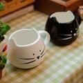 Drop shipping!fast shipping! Lovers Coffee Tea Cup Black And White Cat mug Milk Ceramic Drink Mug Cute Drinkware Creative Gifts