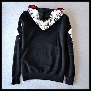 Image 3 - Tamanho europeu moletom hip hop masculino 2020 primavera e outono moda rua personalizado doodle hoodies outerwear mais tamanho