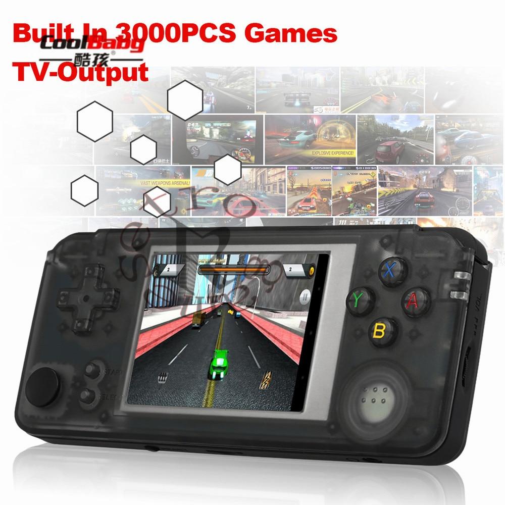 Angemessen Q9 3000 Spiele Retro Handheld Spielkonsole Tragbare Konsolen 3 mini Video Gaming Player W/360 Grad Controller Pk Rs-97 Plus Unterhaltungselektronik