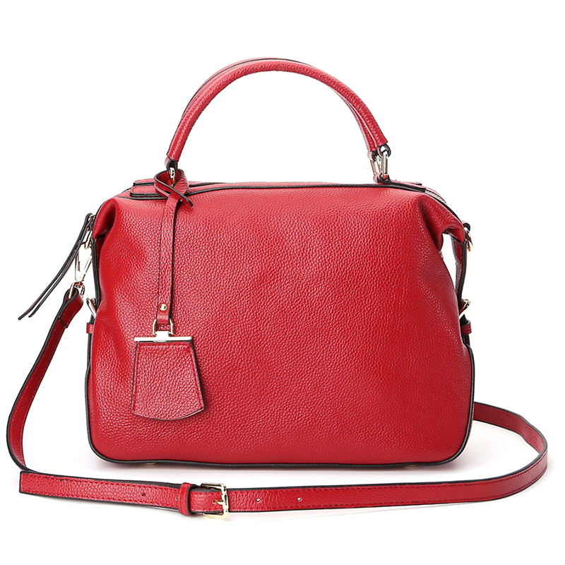2018 Fashion 100 Genuine Leather Women Shoulder Bag Luxury Handbags Women Bags Designer High Quality Natural