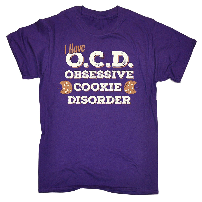 Для мужчин я у O. C. D Obsessive Cookie расстройства футболка