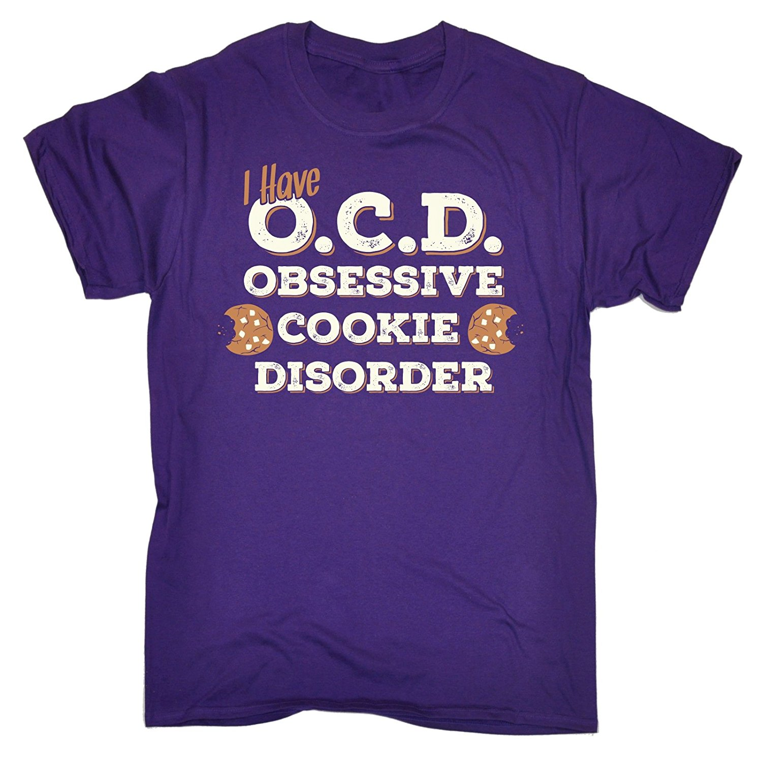 Mens I Have O.C.D Obsessive Cookie Disorder T-SHIRT