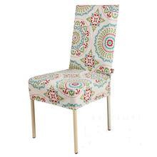 2016 klassischen stil Eurpe stuhlabdeckung gedruckt baumwolle stuhlhussen hause esszimmerstuhl sitzbezüge leinwand recouvre chaise blanche