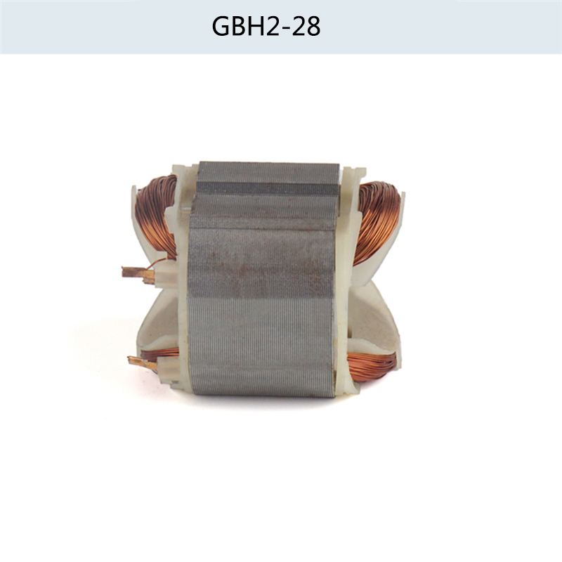 Electric hammer drill stator coil for Bosch GBH2-28 GBH2-28DFV, Power Tool Accessories carbon brush plate holder for bosch gbh2 26dfr gsb16re gsb19 2re gsb19 2rea hd21 2 gbh2 23re 11250vsrd gbh2 24d gbh2 26f
