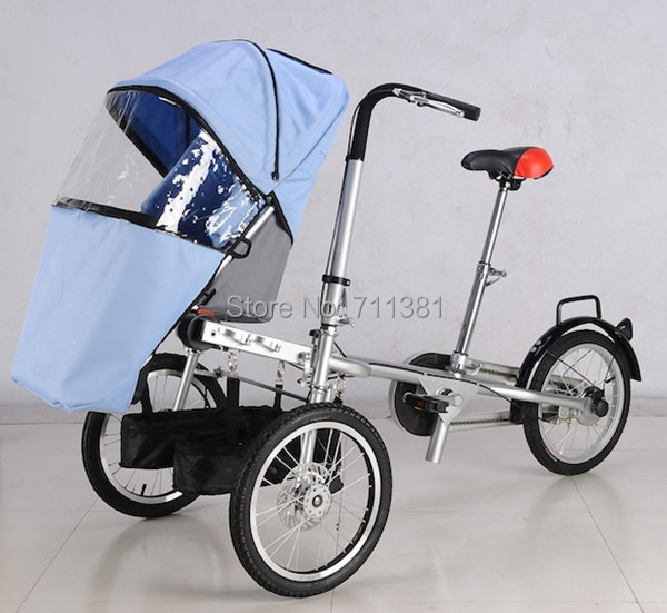 4b995cc0b3b Lowest Price And Fast Delivery Bike Stroller For Child And Parents Baby  Stroller And Bicycle 2 in 1 Hot Selling 2014