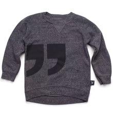Nununu Tshirt Girls Winter Tops tshirt Boys Girl Tee Shirt Garcon Pattern Comma Long Sleeve tShirt Children Clothing  Cicishop