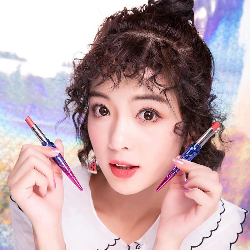 12 צבעים מט איפור שפתון קטיפה פיגמנט איפור Batom לטווח ארוך עיפרון עמיד למים משיי מרקם עמיד Mate רוז'