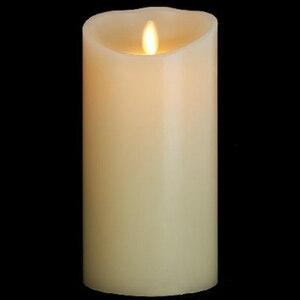 Ksperway беспламенные Свечи настоящий эффект пламени свеча 3,5 на 7 дюймовый слоновой кости восковые свечи с таймером пульт дистанционного управ...